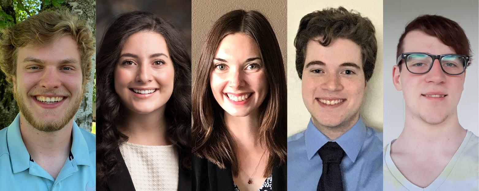 5 OSCPA Scholarship Winners
